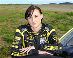 Sara Mason, champion rally co-driver